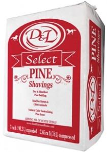 fancy flake pine shavings