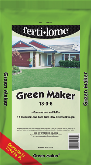 green maker yard fertilizer