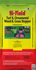 hiyield weed & grass stopper with dimension